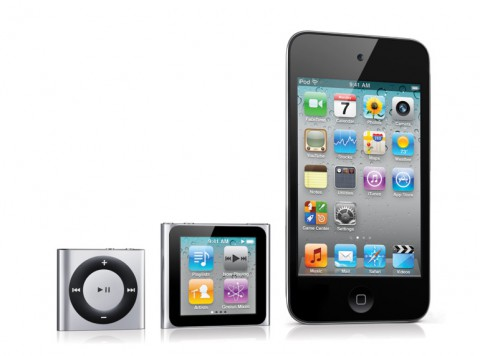 Apple-iPod-Familie