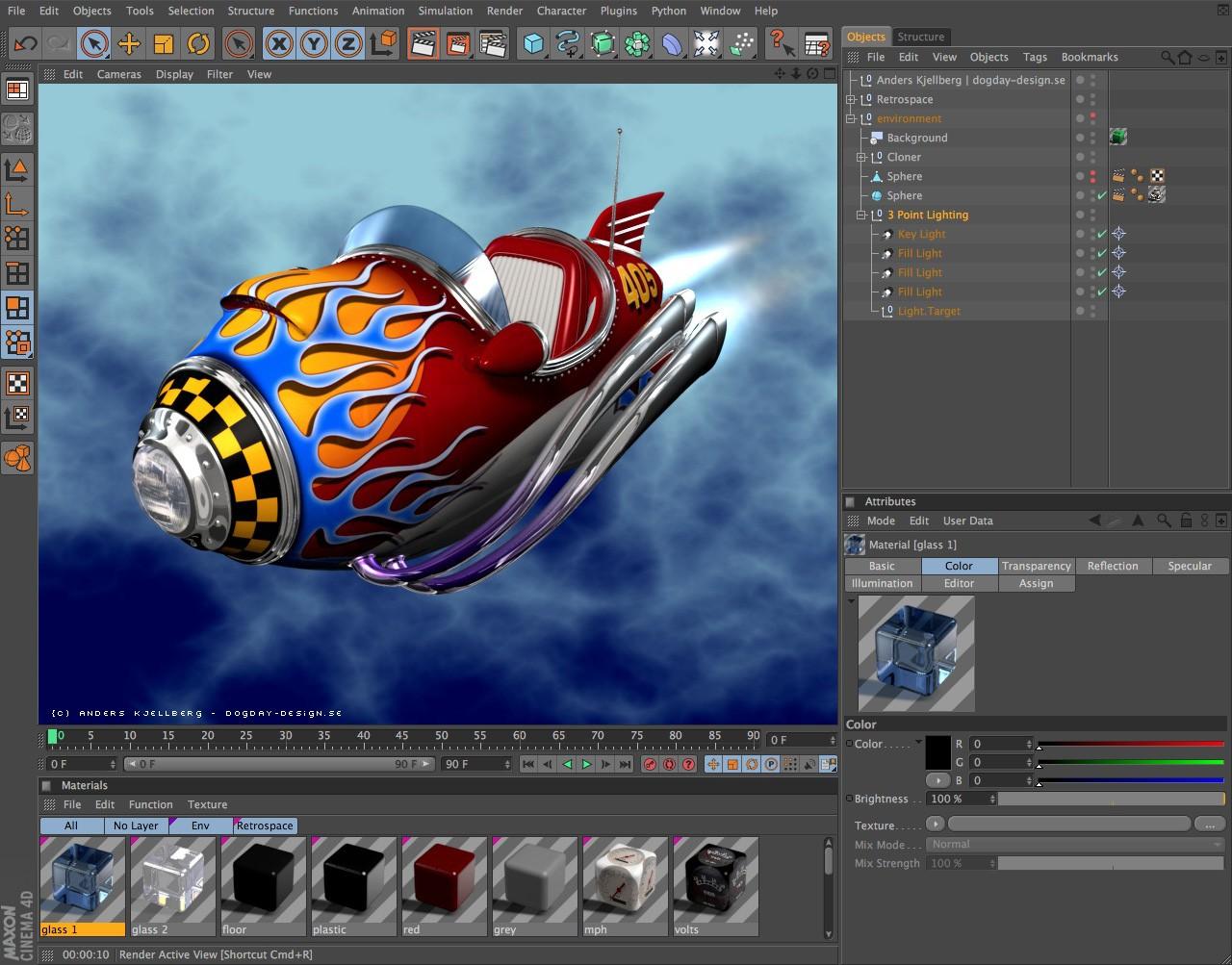 Maxon: Cinema 4D Release 12 rendert besser - Cinema 4D Prime Release 12