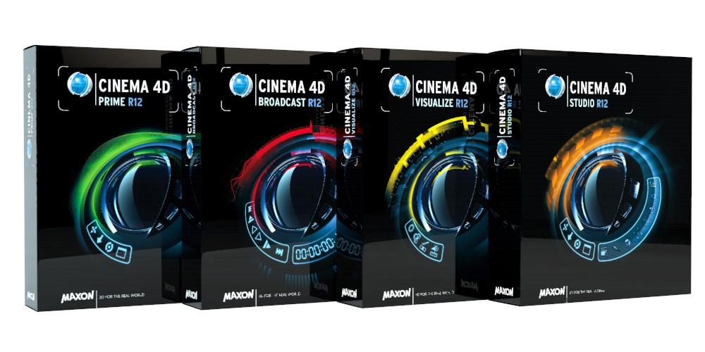 Maxon: Cinema 4D Release 12 rendert besser - Alle Cinema-4D-R12-Varianten