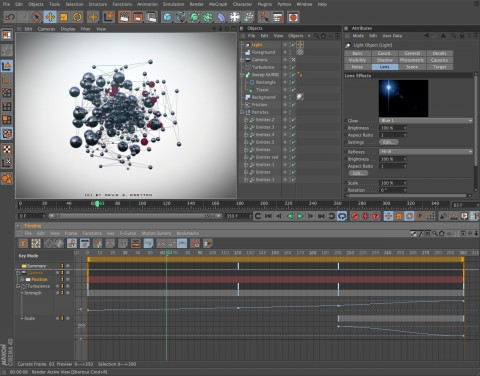 Cinema 4D Broadcast Release 12