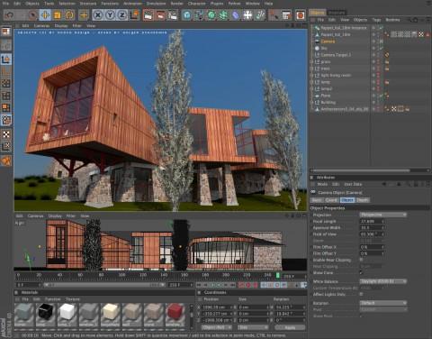 Maxon cinema 4d release 12 rendert besser for Cinema 4d architektur