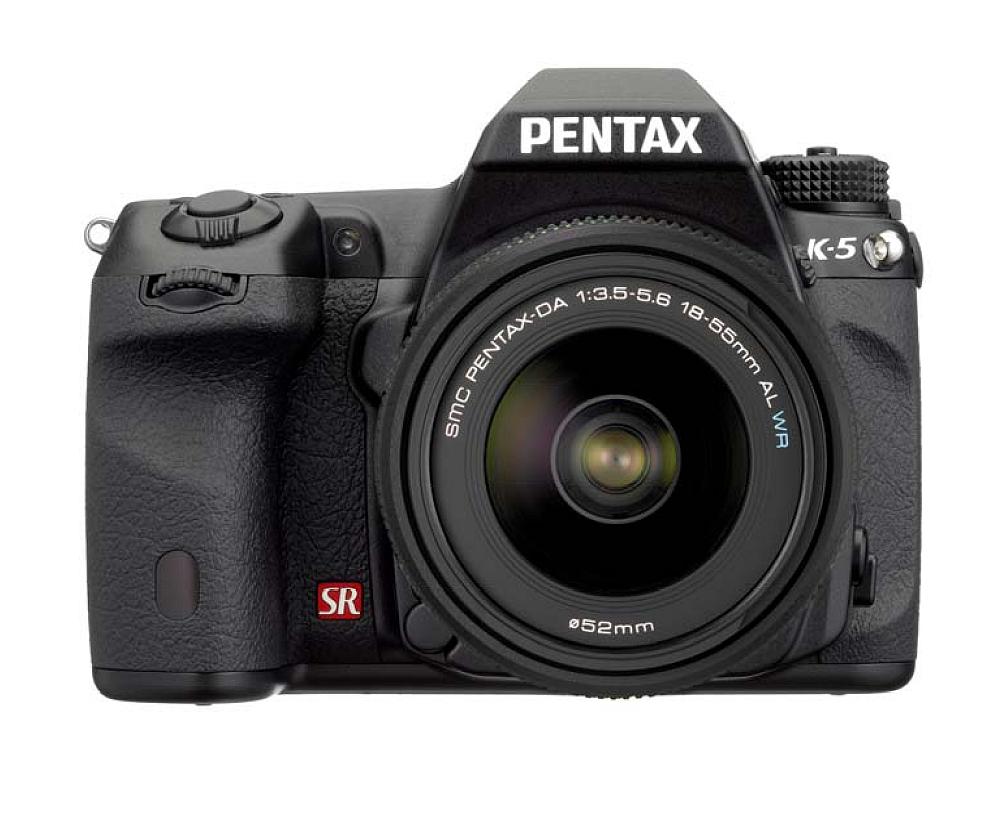 Pentax K-5: Neue Spiegelreflex von Pentax - Pentax K-5 (Foto: Pentax)