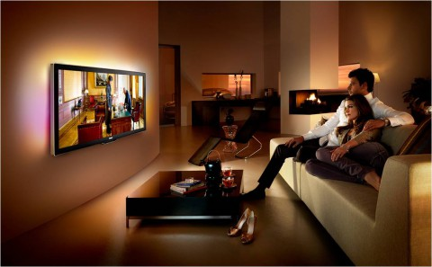 philips 3d fernseher im kinoformat. Black Bedroom Furniture Sets. Home Design Ideas