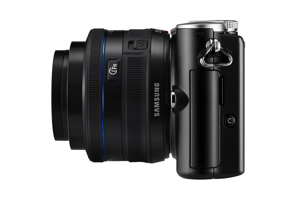 Spiegellose Kamera: Samsung erweitert sein NX-Objektivsystem - Samsung NX100