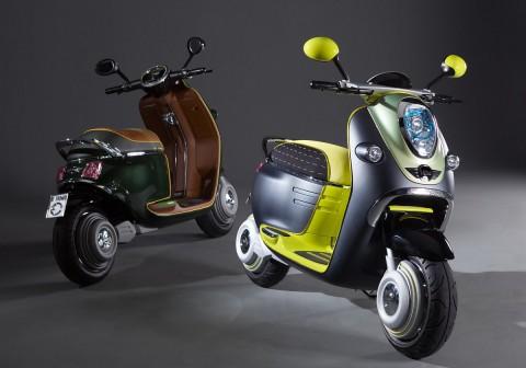 Der Elektroroller Scooter E Concept (Foto BMW)