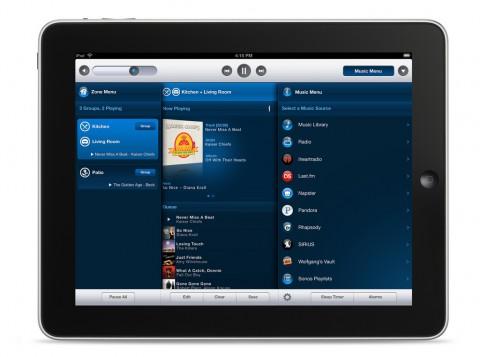 Sonos Controller für iPad