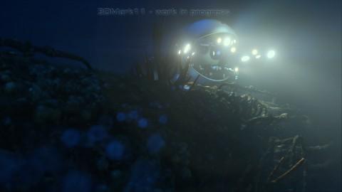 Auch unter Wasser spielt 3DMark 11