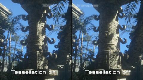 Tesselation an Gebäuden