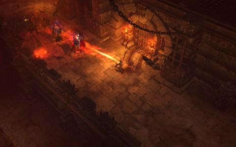 Diablo 3: Dämonenjäger in Action