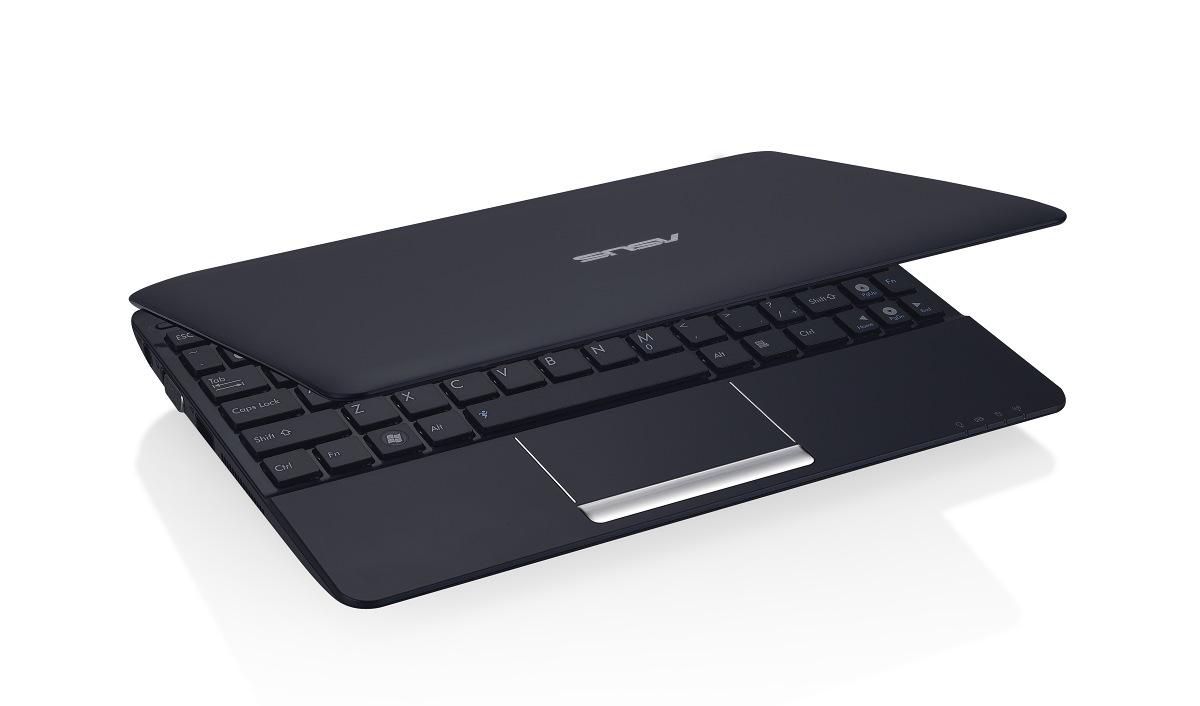 Mit Atom N550: Eee PC 1015PEM mit Dual-Core kostet 350 Euro - Die matte Variante in Schwarz