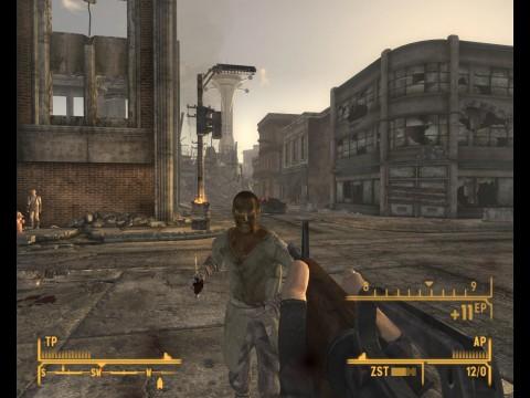Banditen überfallen den Spieler in den Straßen von Las Vegas.