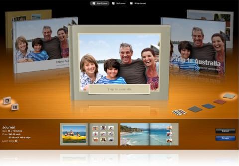 iLife 11 - iPhoto Fotobuchvarianten
