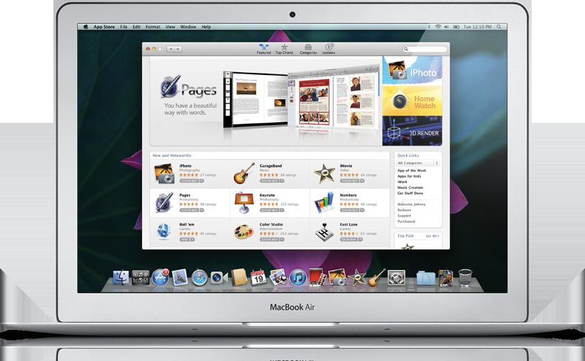 Lion: Mac OS X 10.7 trifft iOS - Mac OS X 10.7 Lion - AppStore