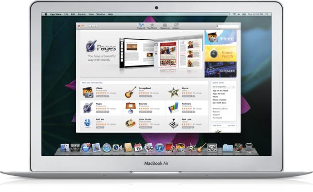 Mac OS X 10.7 Lion - AppStore