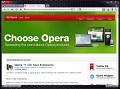 Browser: Alpha von Opera 11 mit Erweiterungen