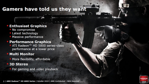 Was Spieler wirklich wollen - laut AMD