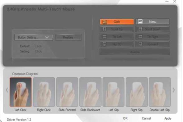 Sensoroberfläche: Nicht nur Apple baut Multitouch-Mäuse - Speedlink Cue - Konfiguration