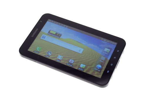 Der 7-Zoll-Bildschirm bietet einen großen Einblickbereich. Invertierende Farben gibt es nicht.
