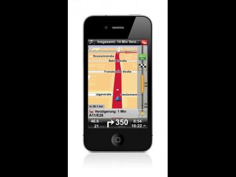 Tomtom-App 1.5 für iPhone