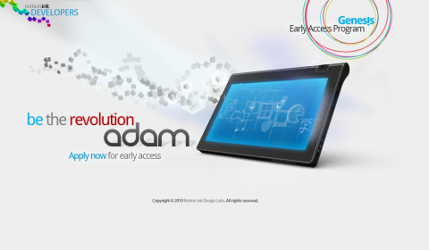 Android-Tablet Adam