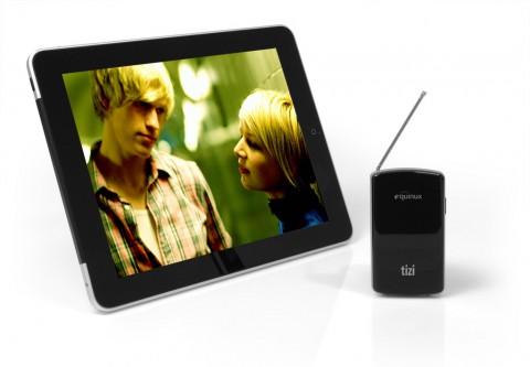 Equinux Tizi - mobiler TV-Hotspot für iPad, iPhone oder iPod touch (Bild: Equinux)