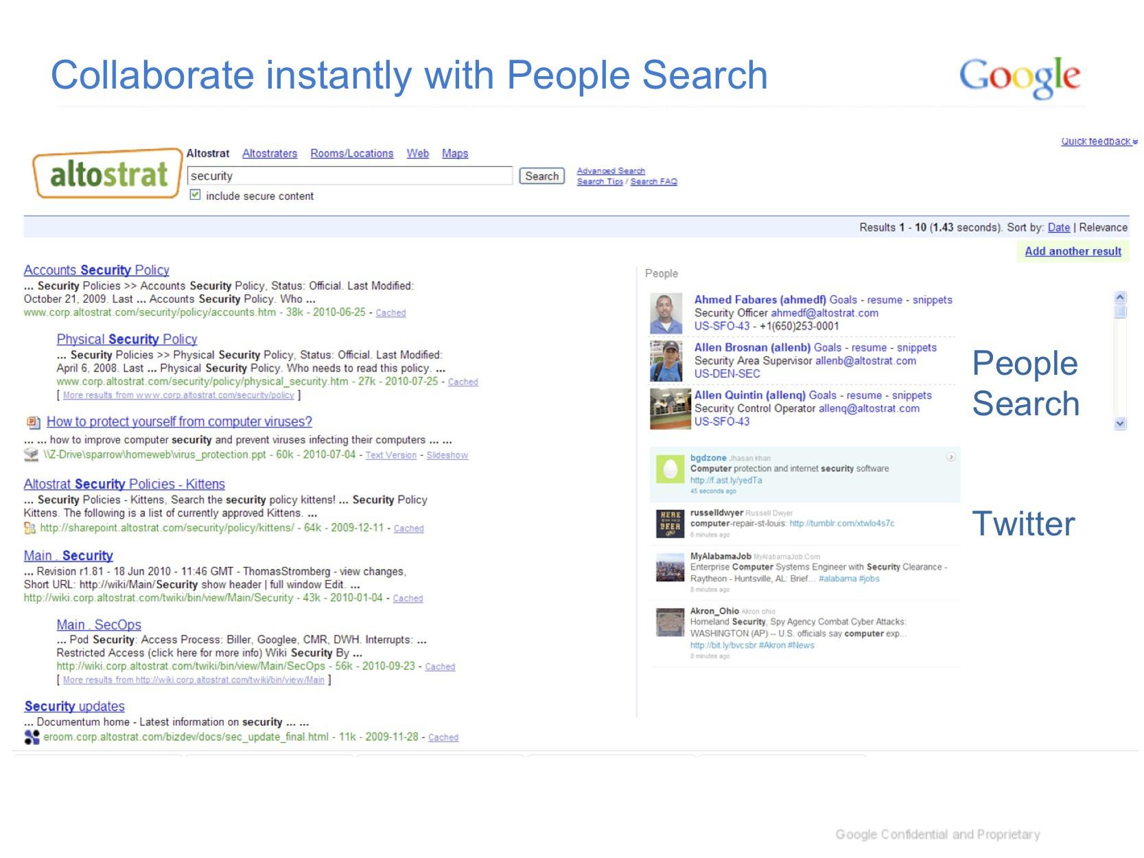 Search Appliance 6.8: Google durchsucht Unternehmen und Cloud-Dienste - Google Search Appliance 6.8 mit Personensuche