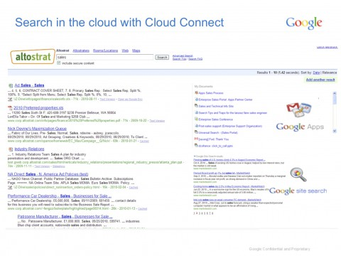 Google Search Appliance 6.8 mit Cloud Connect