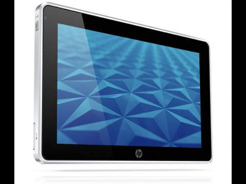 HP Slate 500 - Tablet-PC mit Windows 7 Pro, Atom-CPU, 2 GByte RAM, WLAN und Bluetooth