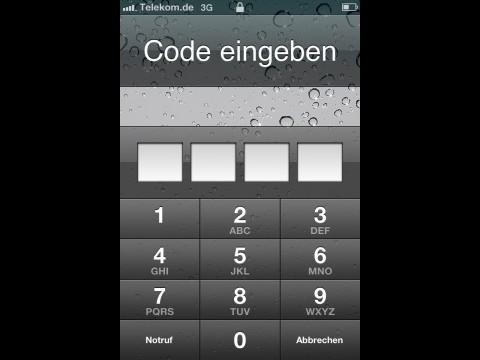 Die Codesperre von iOS 4.1 ist nicht sicher (Screenshot: Golem.de)