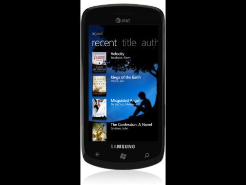 Kindle für Windows Phone 7