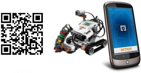 QR-Code zum Herunterladen der App
