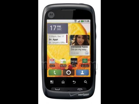 Motorola Citrus - CDMA-Smartphone kommt mit Android 2.1