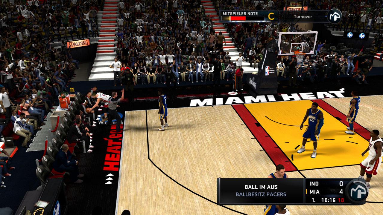 Spieletest NBA 2K11: Eine Zeitreise mit Jordan und Magic -