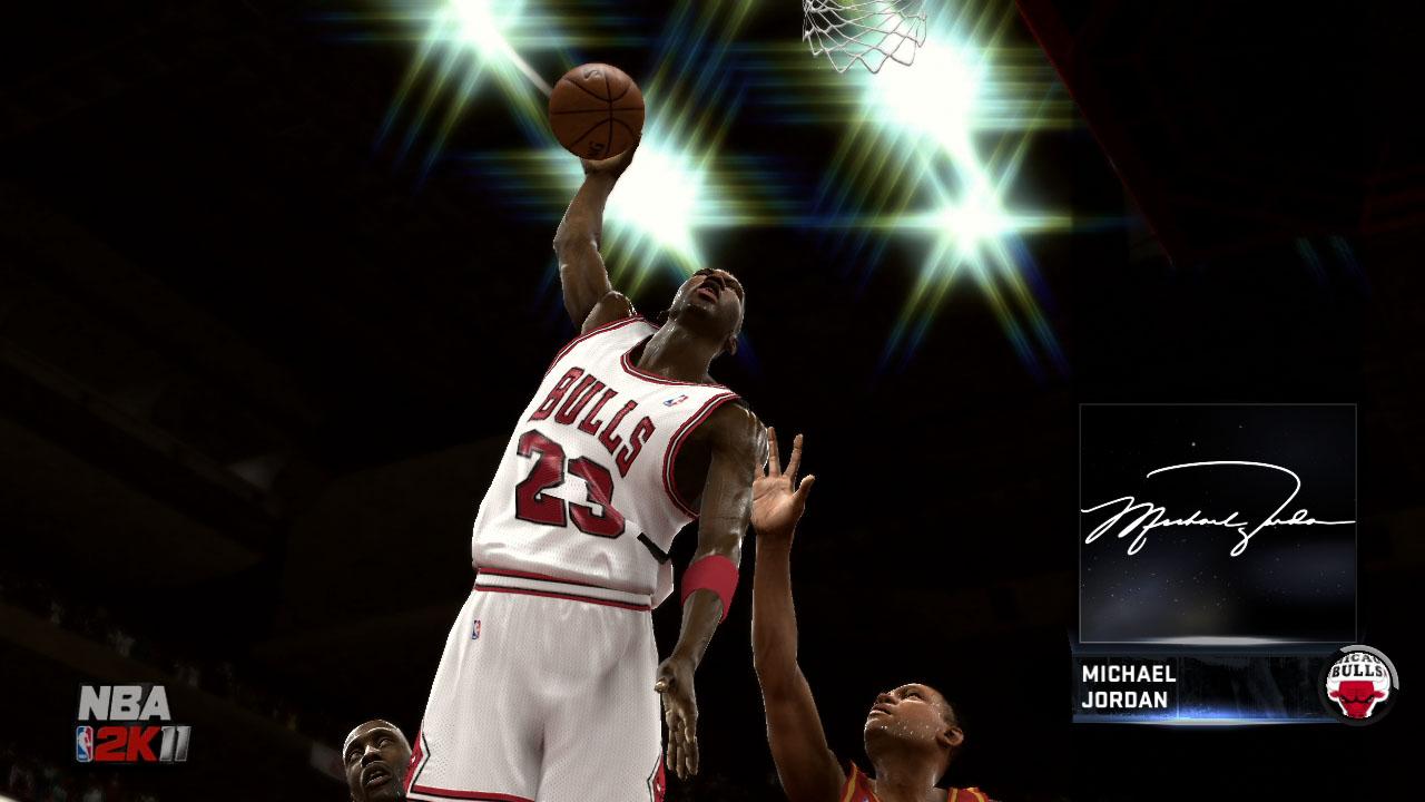 Spieletest NBA 2K11: Eine Zeitreise mit Jordan und Magic - ... und Signature Moves.