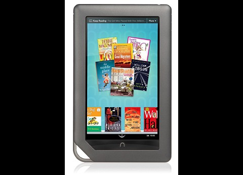 Nook Color hat ein farbiges LCD (Foto: Barnes & Noble)