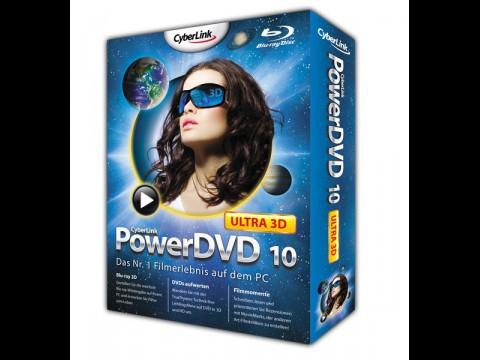 PowerDVD 10 Ultra 3D - unterstützt ab November 2010 Blu-ray-3D-Wiedergabe auch mit neuen AMD-GPUs