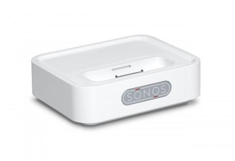 sonos wireless dock wd100 vernetzt mit ipod und iphone. Black Bedroom Furniture Sets. Home Design Ideas