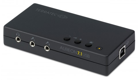 Aureon 7.1 USB - Nachfolgerin der USB-Soundlösung Aureon 5.1 USB (Bild: Terratec)