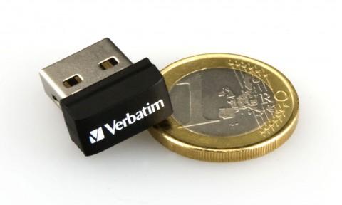 Verbatims Store 'n' Go Netbook USB Drive - speichert 8 bis 32 GByte Daten (Bild: Verbatim)