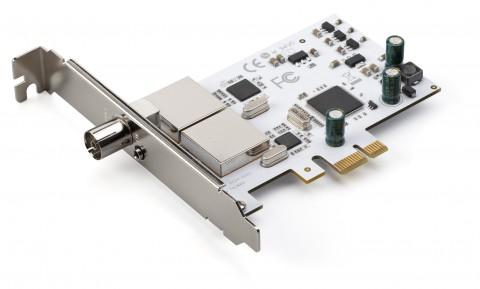 Terratec Cinergy T PCIe Dual (Bild: Terratec)