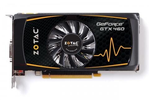 Geforce 460 SE - in diesem Fall ein Modell von Nvidia-Partner Zotac