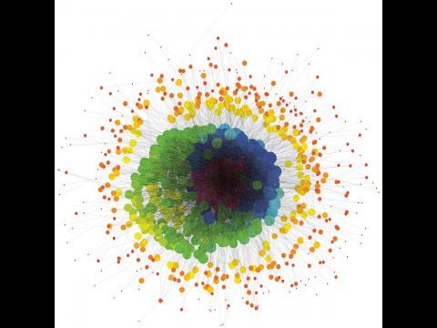 Graph auf Basis des Kronecker-Produkts (Bild: Sandia)
