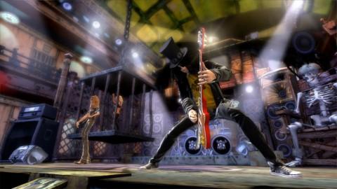 Slash in Guitar Hero 3