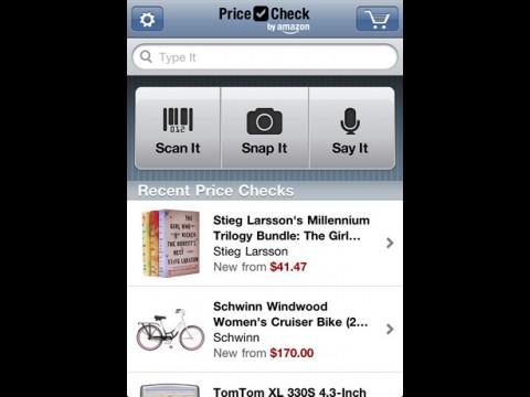 Price Check by Amazon - Preisvergleich mit iPhone (Bild: Amazon.com)