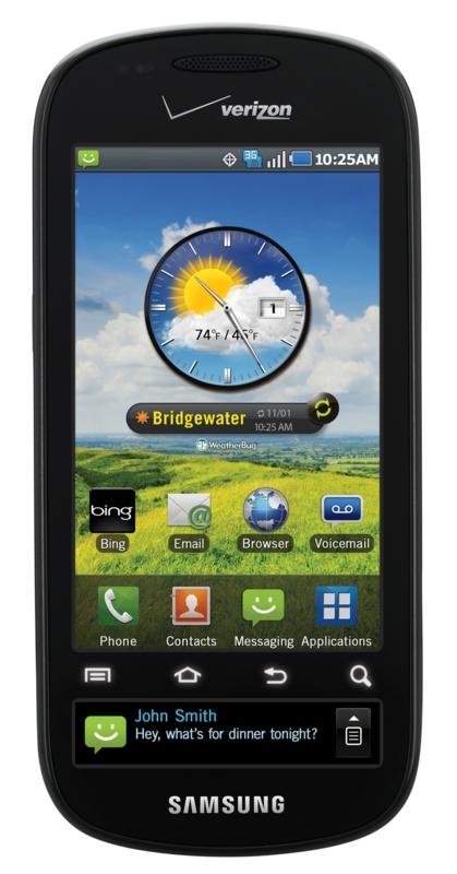 Samsung Continuum: Android-Smartphone mit Newsticker-Display - Samsung Continuum alias SCH-i400