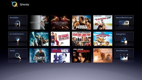 Sonys Video-on-Demand-Angebot Qriocity