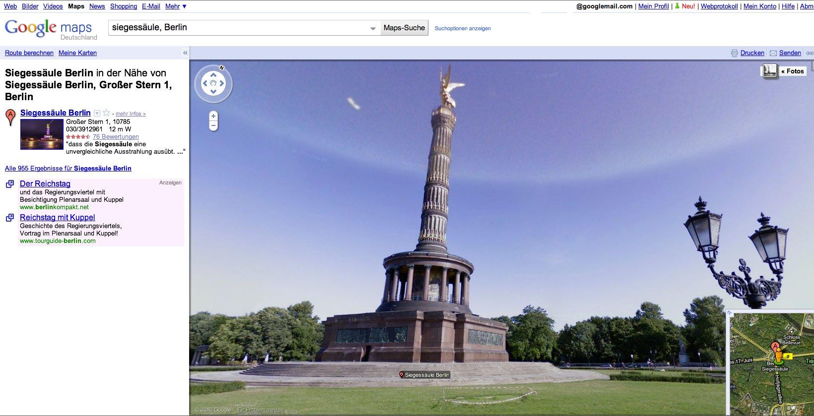 Straßenfotos: Google Street View in Deutschland gestartet -