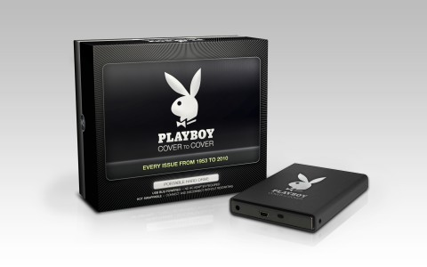The Playboy Cover to Cover Hard Drive