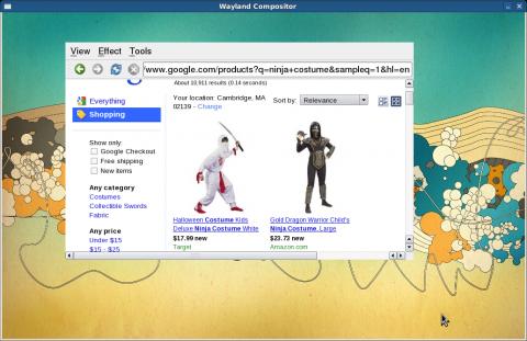 Browserengine Webkit auf Wayland