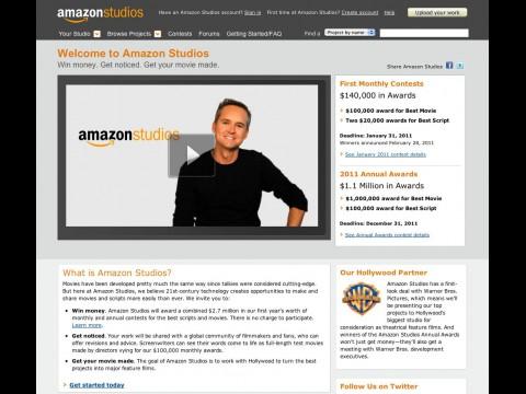 Amazon Studios - soll talentierte Filmschaffende groß rausbringen und Filmfreunde einbeziehen